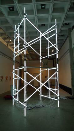 Neon scaffolding Scaffold Training www.scissorlift.training