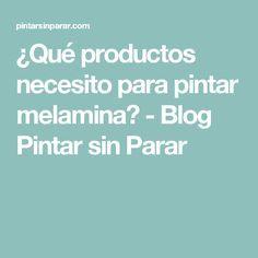 ¿Qué productos necesito para pintar melamina? - Blog Pintar sin Parar