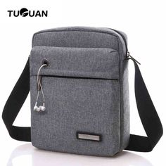 TUGUAN Women Messenger Bags Canvas Waterproof Designer Shoulder Bag Casual  Crossbody Luxury Men Satchel Bags Bolsa Masculina-in Crossbody Bags from  Luggage ... acb1f431591f8