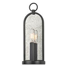 "13.75""h x 4.75w x 2.75""d Hudson Valley Lighting Lowell Old Bronze Sconce   091-OB   Destination Lighting"