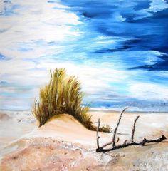 Artwork >> Bernadette Malecki >> The dune  #artwork, #masterpiece, #color, #bright, #painting, #nature, #dune