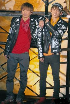 Go Morita and Ken Miyake Japanese Men, Great Team, Victorious, Idol, Handsome, Punk, Singer, Couples, Boys