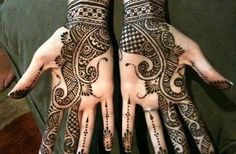 I have a strange love for henna - this looks amazing.