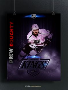 King Design, Los Angeles Kings, Hockey, Darth Vader, Sports, Movie Posters, Life, Fictional Characters, Excercise