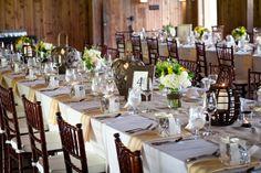 idée déco pour table champêtre et mariage de campagne