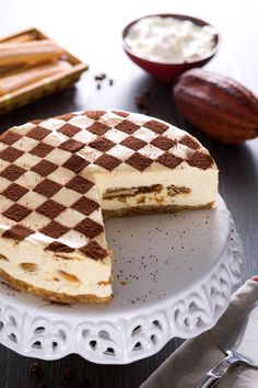 Tiramisu Cheesecake, Tiramisu Recipe, Cheesecake Recipes, Dessert Recipes, Happiness Recipe, Cooking Cake, Cream Cheese Recipes, Raw Chocolate, Saveur