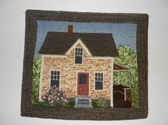 Making art with wool. An interactive rug-hooking community. Punch Club, Art Mat, Rug Patterns, Hand Hooked Rugs, Punch Needle, Rug Hooking, Rugs Online, Beautiful Hands, Small Rugs