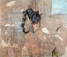 Jan-Kenneth Weckman: sommitelma, sekatekniikka, 112x133 cm - Hagelstam K133