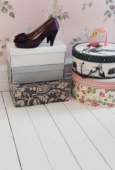 cute storage! #Home #Organization #Shoes