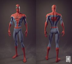 Spiderman – Breakdowns by Julien De Carvalho | Zbrush Tuts