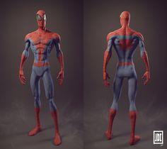 Spiderman – Breakdowns by Julien De Carvalho | Zbrush Tuts