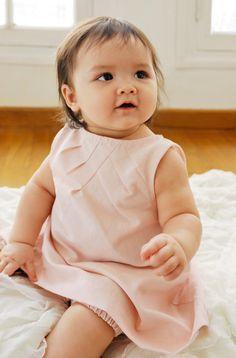 Baby & dress.