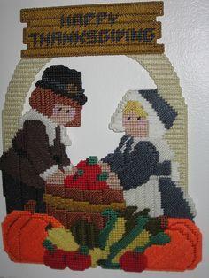 Thanksgiving Pilgrims Wall Decoration