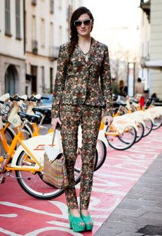 Floral! Street style, London