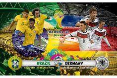 Brazil vs Germany World Cup 2014 Semi Finals Match HD Wallpaper...