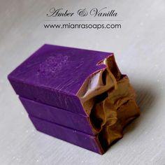 Amber vanilla soap by mianra Homemade Hand Soap, Homemade Soap Recipes, Soap Bomb, Pure Soap, Soap Colorants, Beauty Soap, Soap Stars, Soap Maker, Handmade Soaps