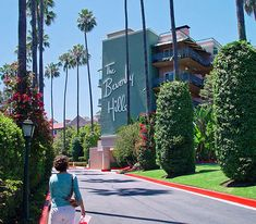 Graphics for the Beverly Hills Hotel on Behance