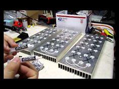 Me building Cree LED Aquarium Light Pannels for a 240 gal freshwater aquarium