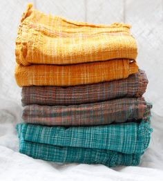 Rustic Khadi Textile- love, love love