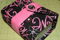 Scripture Cover... love this idea! I would probably sew button on and use elastic loop to hook to the button...just my own 'lil tweak to this idea! sew happy!
