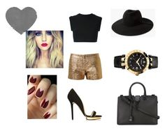 """""""#29"""" by emilie33145 ❤ liked on Polyvore featuring beauty, Charlotte Olympia, adidas Originals, Lanvin, MANGO, Yves Saint Laurent and Versace"""