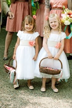 flowergirls--handmade sashes and bows