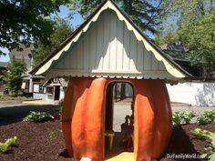 Little Houses at Great Escape Theme Park