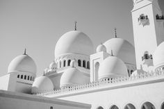 Abu Dhabi - Sheikh Zayed Grand Mosque by Radu Micu on 500px