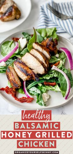 Looking for a delicious and easy marinade you can throw together or freeze for when you need it? This balsamic chicken marinade only takes about 5 minutes to throw together! It has the perfect balance of sweetness and vinegar to create a healthy dinner or lunch. Organize Yourself Skinny Healthy Dinner Recipes | Healthy Summer Grilling Recipes Healthy Freezer Meals, Healthy Family Meals, Easy Healthy Dinners, Healthy Dinner Recipes, Skinny Recipes, Meal Recipes, Lunch Recipes, Summer Recipes, Salad Recipes