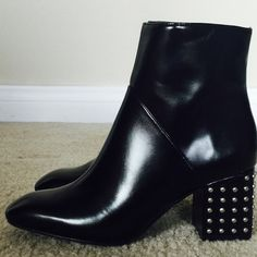 Zara studded heel ankle boots   Zara studded heel ankle boots  Brand new.  Size 7. Zara Shoes Ankle Boots & Booties