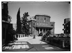 Municipality of Tel Aviv. Old Pictures, Old Photos, Jaffa Israel, Tel Aviv Israel, Palestine, The Past, Mansions, Architecture, House Styles