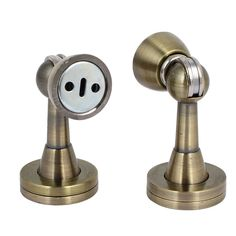 uxcell Home 45mmx80mm Metal Door Stopper Holder Magnetic Catches Bronze Tone 2pcs ** Find out more about the great product at the image link. (This is an affiliate link) #Doorstops