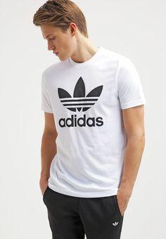 adidas Originals T-shirt z nadrukiem - white za 129 zł (18.09.16) zamów…