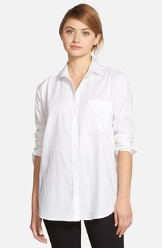 cupcakes and cashmere 'Shrine' Button Front Shirt available at #Nordstrom