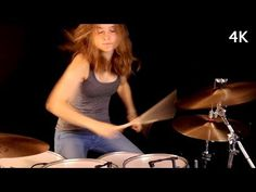 July Morning by Uriah Heep. This particular version was suggested by Apple Musi. Female Drummer, Drums Sheet, Here I Go Again, Drum Cover, Drum Lessons, Uriah, Music Bands, Rock N Roll, Musicals
