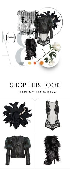 """""""Lucky me 2 be me"""" by hanadi-1 ❤ liked on Polyvore featuring Erika Cavallini Semi-Couture, La Perla, Marc Jacobs, Manolo Blahnik, polyvorecommunity and polyvoreeditorial"""