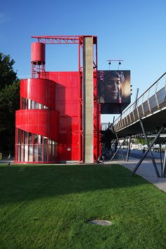 Spiral folly - Parc de la Villette - Paris - France | Flickr - Photo Sharing!