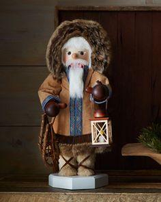 Eskimo #Nutcracker by #Ulbricht at #Horchow #Holiday #Christmas #Home #Decor