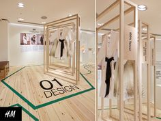 FormRoom for H&M | Conscious Lounge Pop-Up, Oxford Circus | #Conscious #PopUp #RetailInteriors #StoreDesign #VM #Digital
