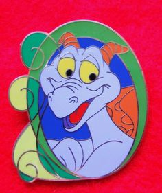 Disney Pin WDW Swirls Mystery Pin Collection Figment LE RETIRED