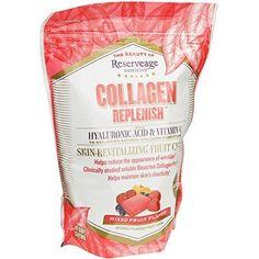 Reserveage - Collagen Replenish Chews Triple-Action Defense Against Collagen Deterioration 60 count
