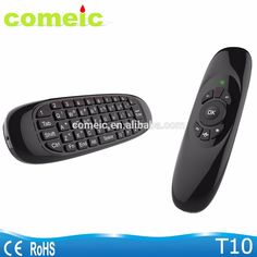 T10 Rechargeable Wireless Air mouse with keyboard remote control c120 air mouse
