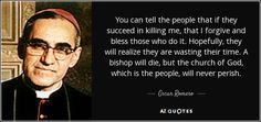Quote Blessed Archbishop Oscar Romero