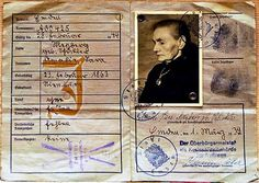 July 22nd, 1938: The Third Reich begins issuing special ID cards for Jewish Germans.