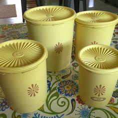 mint green enamel tea sugar canisters vintage kitchen jars by