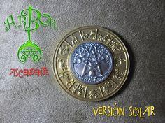Moneda Arbor con tu Ascendente 4cm versión solar