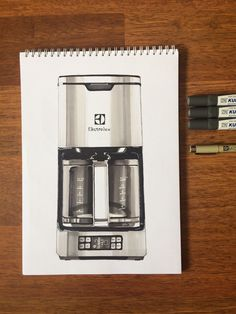 Electrolux Expressionist Coffee Maker sketch