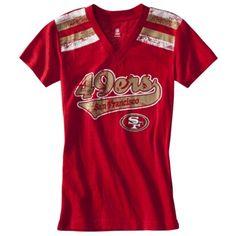 4a68aabec Girls  49ers shirt 49ers Shirts