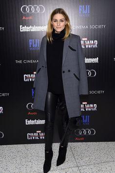 Olivia Palermo - The Cinema Society With Audi & FIJI Host a Screening of Marvel's 'Captain America: Civil War' - May 4, 2016