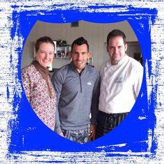 Visita de Carlos Tevez